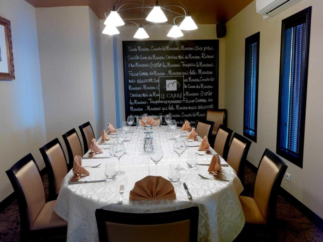 Restaurant Cambrai Séminaire Le Carré